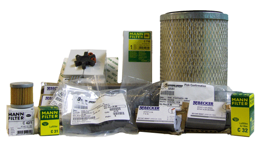 offering filters and supplies for your vacuum pumps and blowers